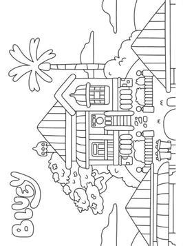 kids  funcom  coloring pages  bluey