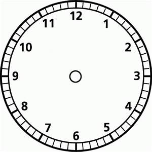 blank clock face template clipart best With clock face templates for printing