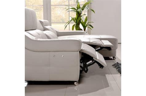 canapé d angle en cuir de buffle canapé d 39 angle relax en cuir de buffle italien de