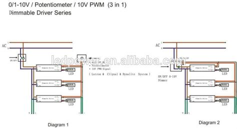 Dimming Wiring Diagram