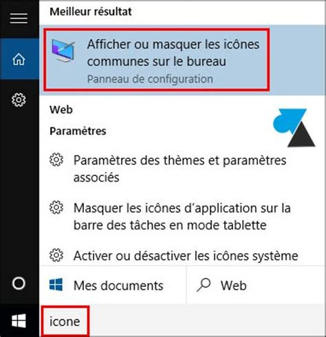 windows 7 icone bureau afficher les icones du bureau 28 images comment