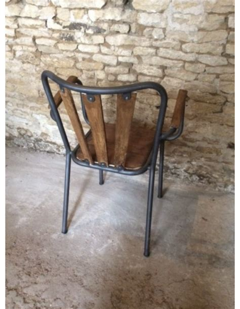 chaise bistrot bois metal 92 chaise bistrot bois metal cult living louis dining