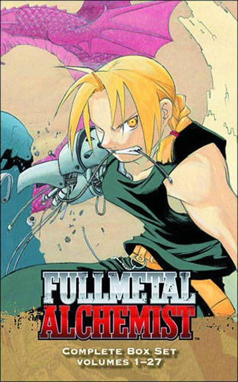 books    fullmetal alchemist series