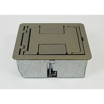 Wiremold Floor Box by Caf3 Shallow Floor Box Caf3 Legrand