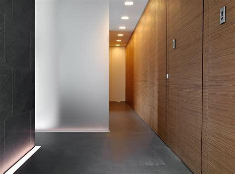 Minimalist Home Design Residence Hallway Completed With