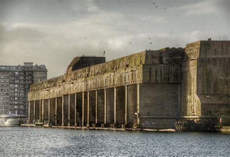 German U Boat Pens Brest by U Boat Pens Nazaire World War 2 Revisited