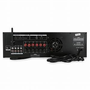 Pyle 5 1ch Home Theater System Amplifier Bluetooth Hi