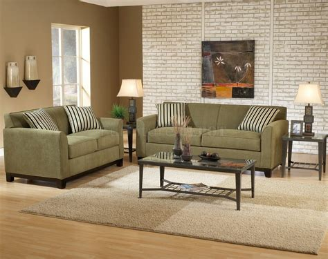 Decor Sofa Set by Wall Color For Green Fabric Casual