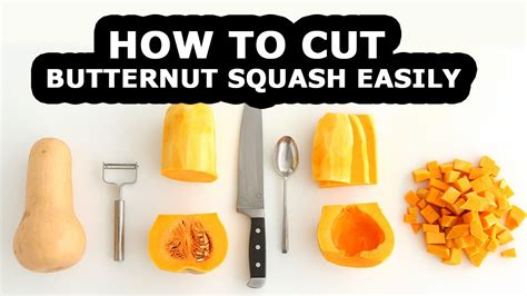 How To Cut Butternut Squash For Squash Recipes  How To