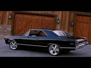 Black 1967 Chevrolet Chevelle