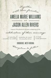 rustic horizon signature white wedding invitations in With rustic horizon wedding invitations