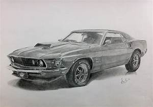Ford Mustang Drawings Pictures to Pin on Pinterest - PinsDaddy