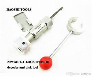 New Mul T Lock 5pins R 2 In 1 Tool Reqair Pick And Decoder