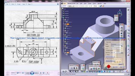 Catia V5 Tutorial|How to Read & Create 3d Models from 2d ...