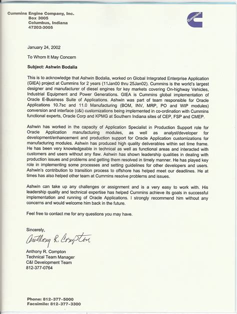 resume cover letter exles to whom it may concern resume