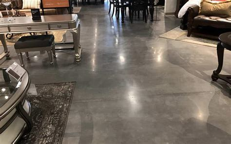 Polished Concrete Ashley Furniture Store Gainesville