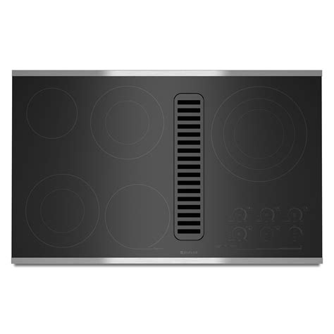 downdraft electric cooktop jenn air jed4536ws 36 quot electric radiant downdraft