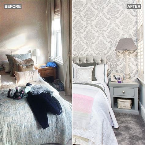 grey bedroom makeover ideal home