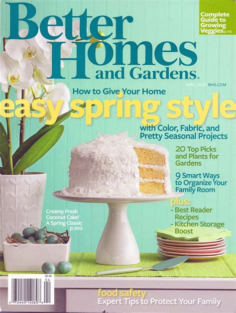 better homes and gardens better homes and gardens april 2010 s treasure trove