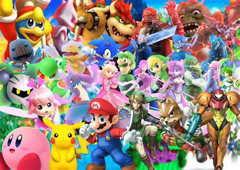 Nintendo All Stars By Supersaiyancrash On Deviantart