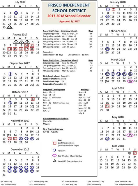 klein isd school calendar calendar template