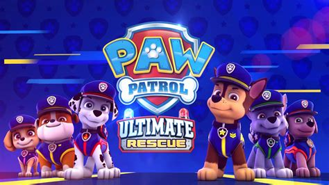 paw patrol ultimate rescue chase  vimeo