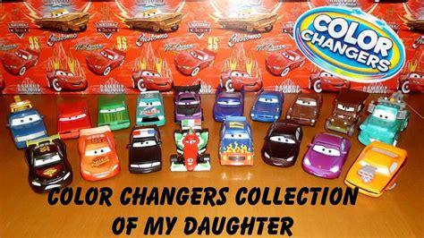 color changers disney pixar cars color changers sammlung meiner tochter
