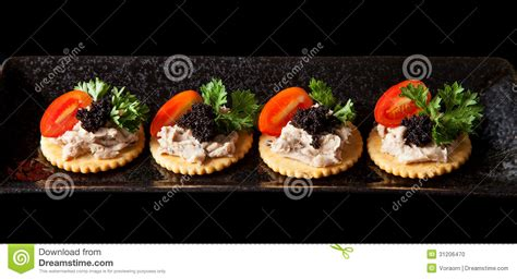 pate canapes canape stock photo image of gourmet canape pasley