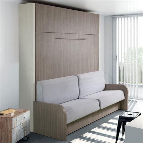 lit avec canapé lits escamotables armoires lits escamotables armoire lit