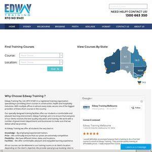 edway training deals coupons  vouchers ozbargain