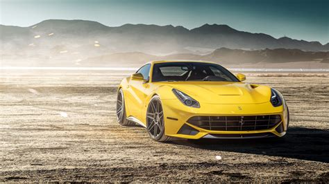 Ferrada Sema Yellow Ferrari F12 5k Wallpaper