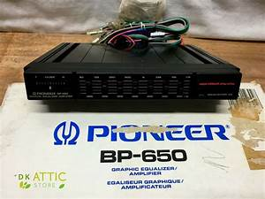Wiring Diagram Pioneer Bp 650