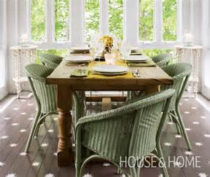 diy stenciled floor house home