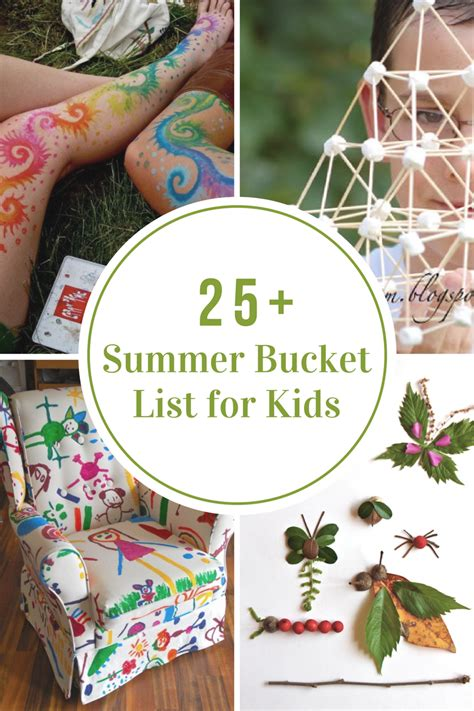 summer bucket list  idea room