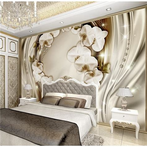 beibehang custom wall paper diamond romance luxury wall