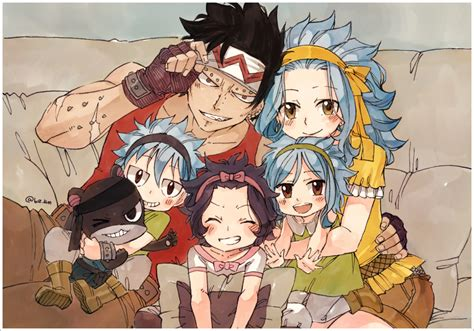 fairy tail anime gajeel gajeel redfox and levy www pixshark com images