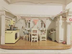 Maus In Der Küche : maileg g ste besuch puppenstube dollhouse bunny rabbit hase kaninchen maus vintage ~ Eleganceandgraceweddings.com Haus und Dekorationen