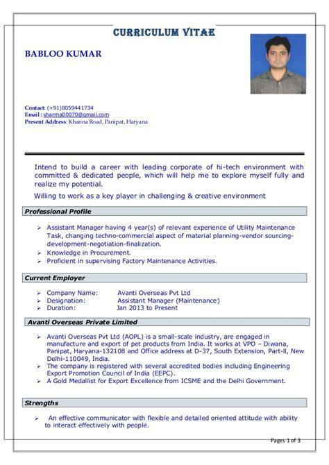 Utility Maintenance Worker Resume by Resume For Utility Maintenance And Procurement