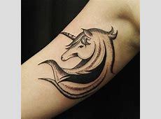 70 Tatuagens de Unicórnio as fotos mais lindas!