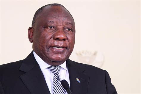 Cyril ramaphosa said the matter had to be handled with care and. 12 July - President's full speech - DFA