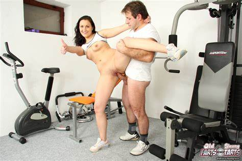 Fit And Tender Yoga Old Is Seduces By Her Instructor