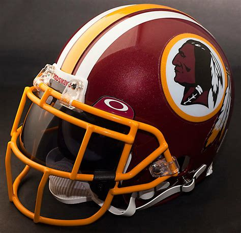 washington redskins nfl authentic gameday football helmet