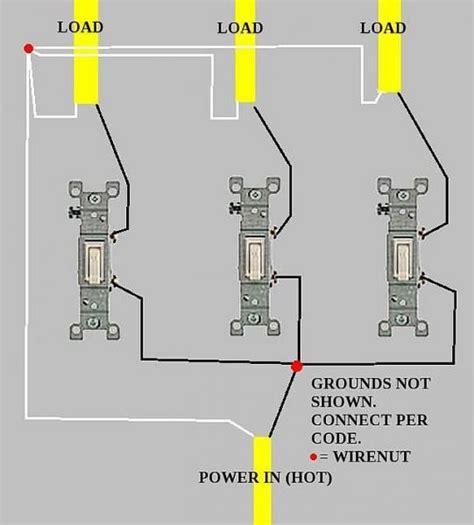 3 light switch wiring diagram somurich