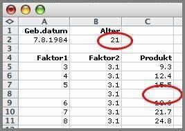 Alter In Excel Berechnen : aktuelles programm praktikum 04 05 ~ Themetempest.com Abrechnung