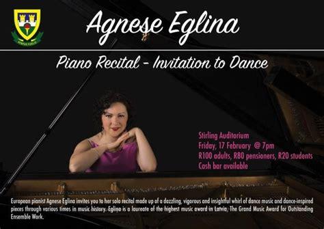 Agnese Eglina, Live At Stirling Auditorium