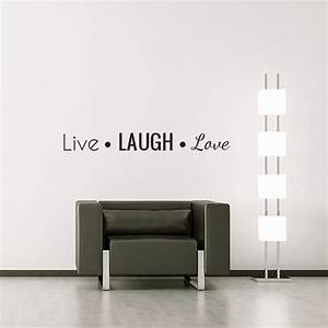 live laugh love wall decal wall decal world With live laugh love wall decal
