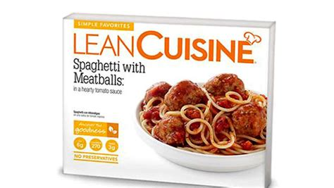 liant cuisine lean cuisine recall simple favorites spaghetti with