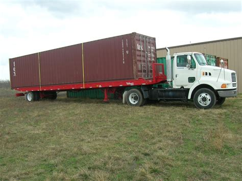 Shipping Container Trailer For Sale  Container House Design