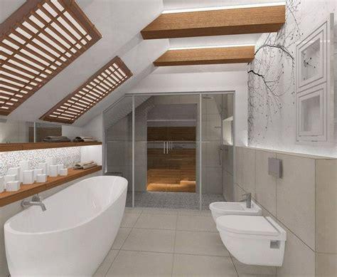 Kleines Badezimmer Dachschräge by Fototapete Mit Baumzweigen Im Kleinen Badezimmer Mit