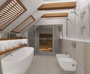 Fototapete Für Bad : fototapete mit baumzweigen im kleinen badezimmer mit dachschr ge bad pinterest kleine ~ Sanjose-hotels-ca.com Haus und Dekorationen